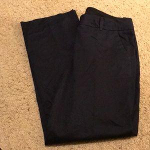 J Crew dark blue pants